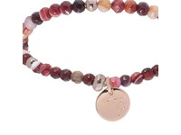 Romancing the stones bracelet - Burgundy/Rose Gold