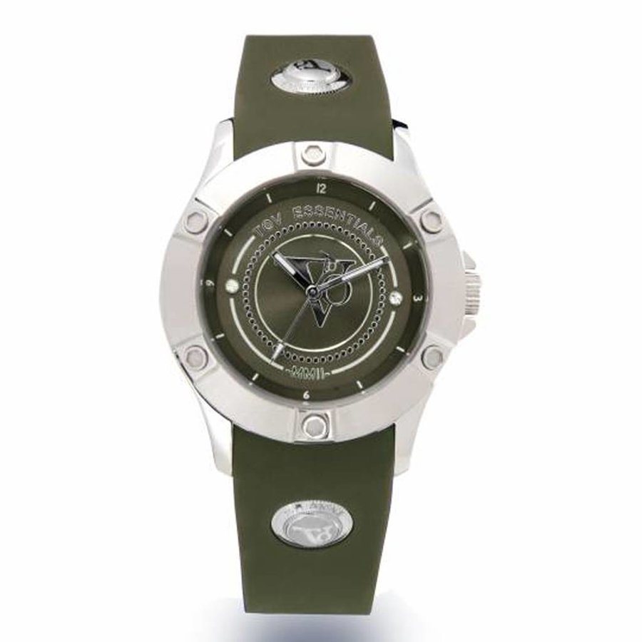Sea Battle - Army - Steel - Horloge