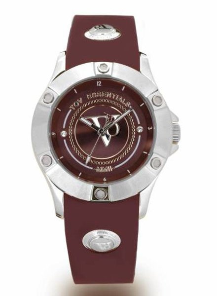 Pearl Harbour - Burgundy - Steel