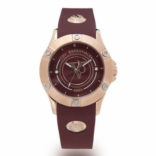 Pearl Harbour - Burgundy - Rose - horloge