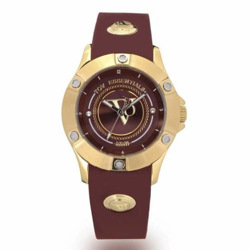 Pearl Harbour - Burgundy - Gold - Horloge