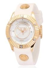 White beach gold horloge