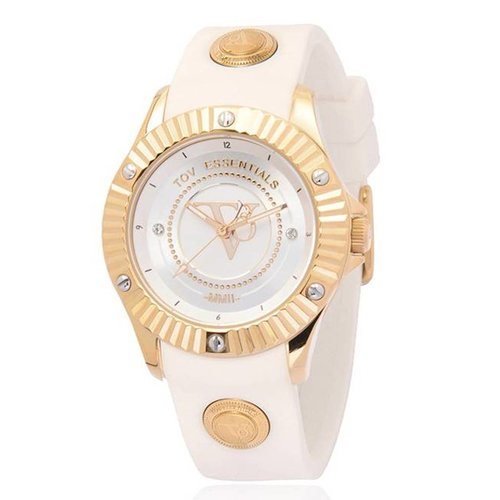 White beach gold watch