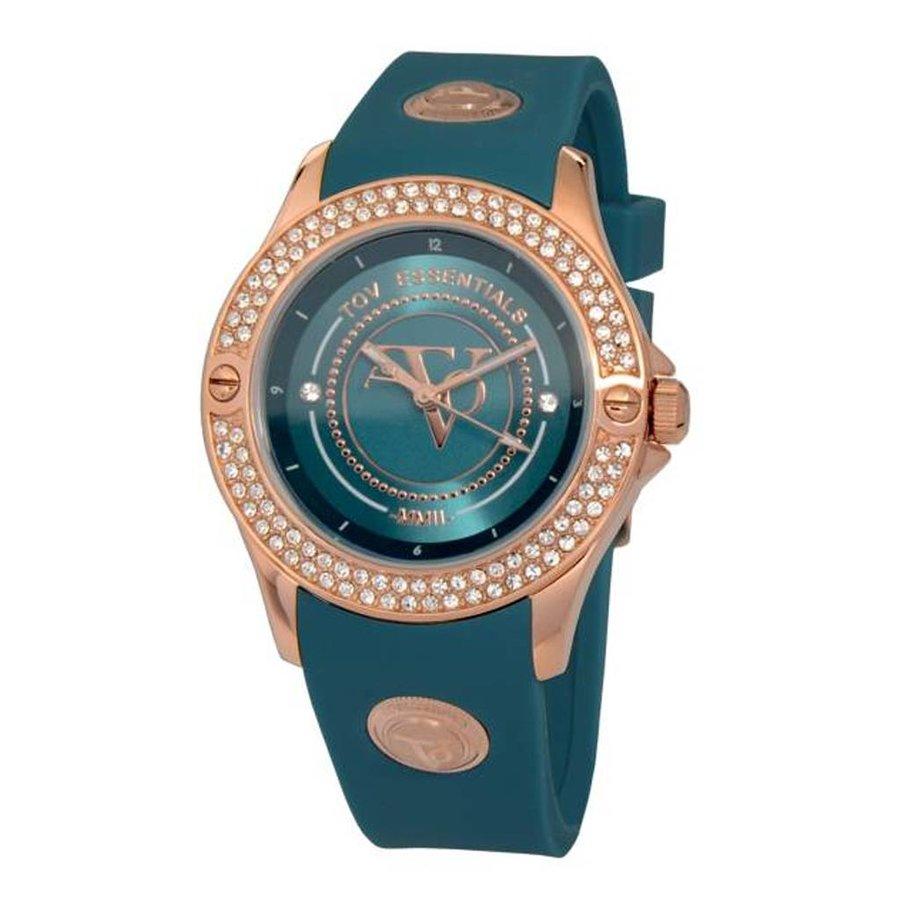 Atlantis sparkle rose/caribbean blue watch