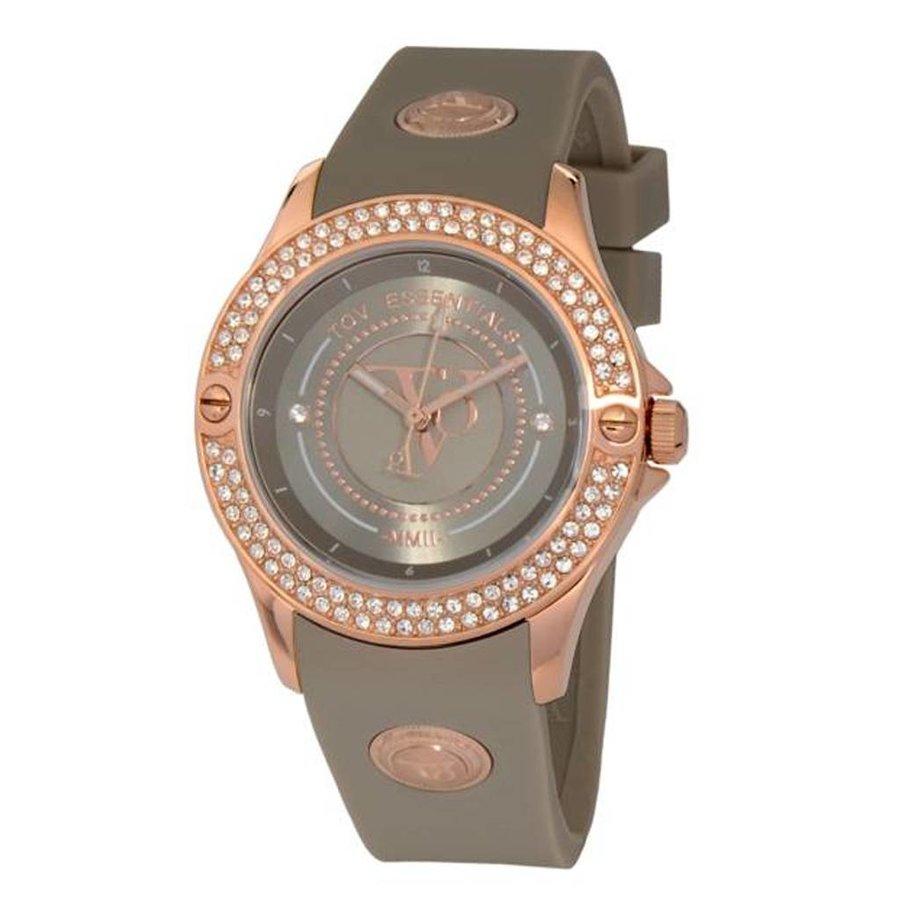 Atlantic adventure sparkle rose/taupe watch