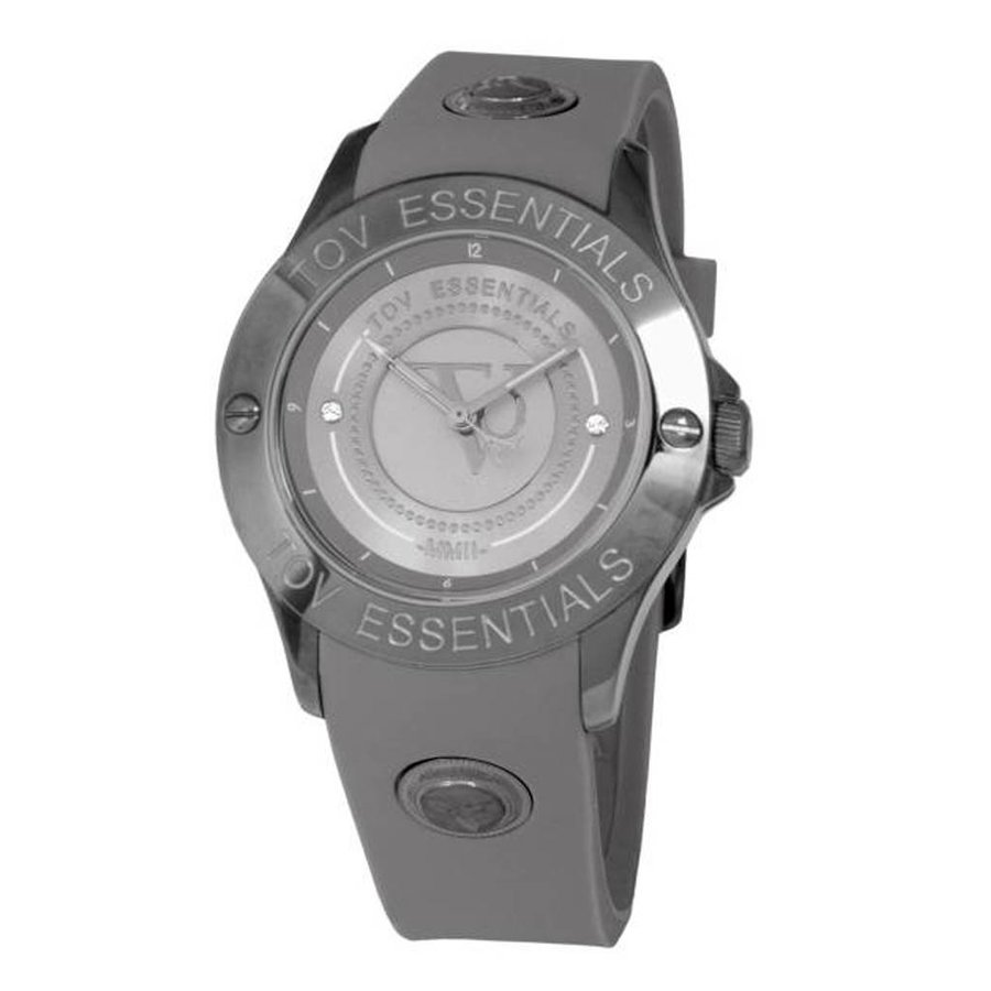 Stormy ocean gun metal watch