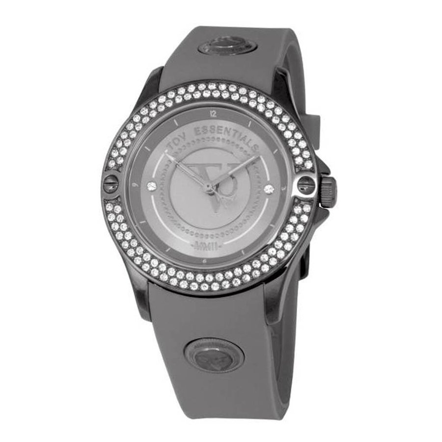 Stormy ocean sparkle grey/gun metal watch