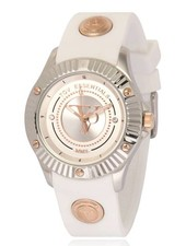White beach steel horloge