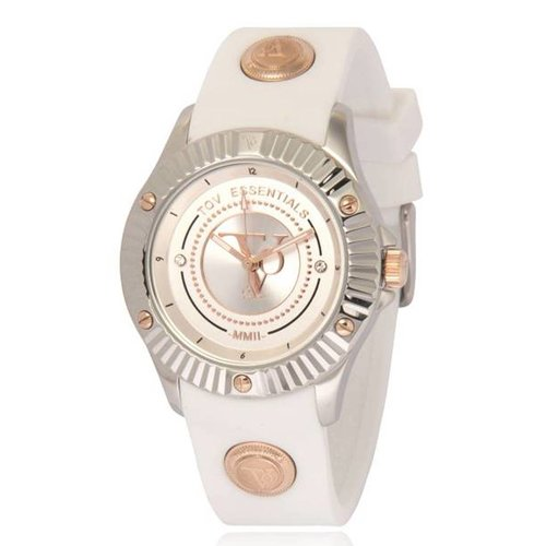 White beach steel watch