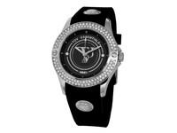Black sea sparkle white gold/black watch