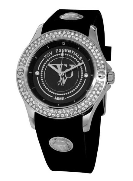 Black sea sparkle wit goud/zwart horloge