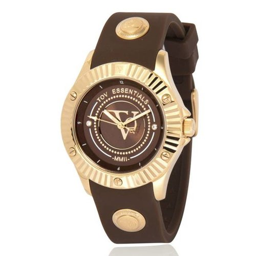 Arabian sea delight brown/gold watch