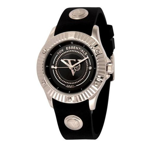 Black sea treasure zwart/zilver horloge