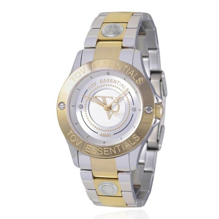 TOV steel/gold watch