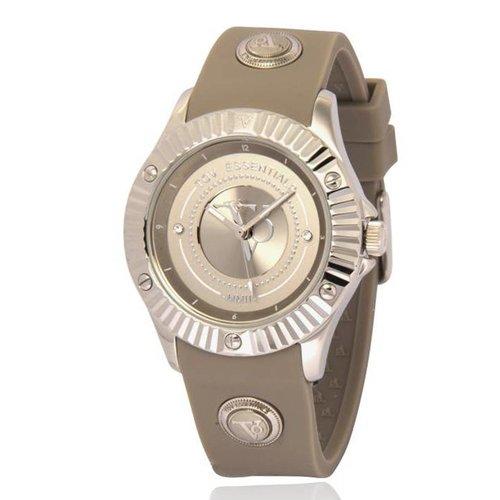 Atlantic adventure taupe/zilver horloge