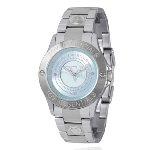 TOV steel/blue watch