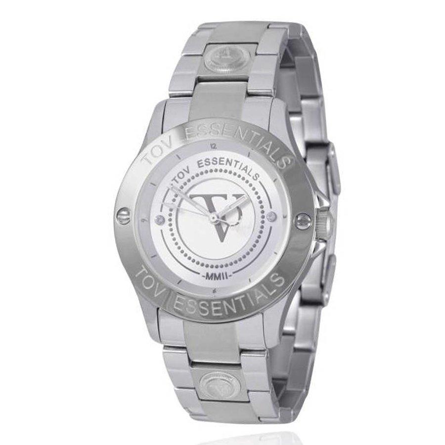 TOV steel horloge