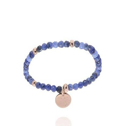 Romancing the stones bracelet - Blue/White Gold