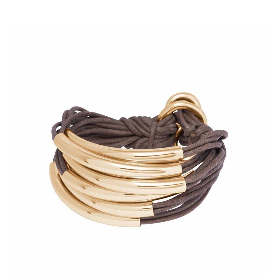 Lot's of cord tube armband