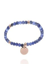 Romancing the stones bracelet - Blue/Light Gold
