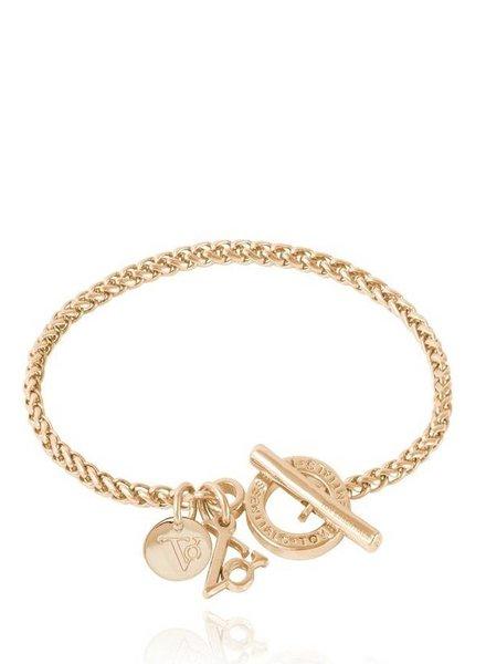 Ini mini spiga bracelet - Light Gold