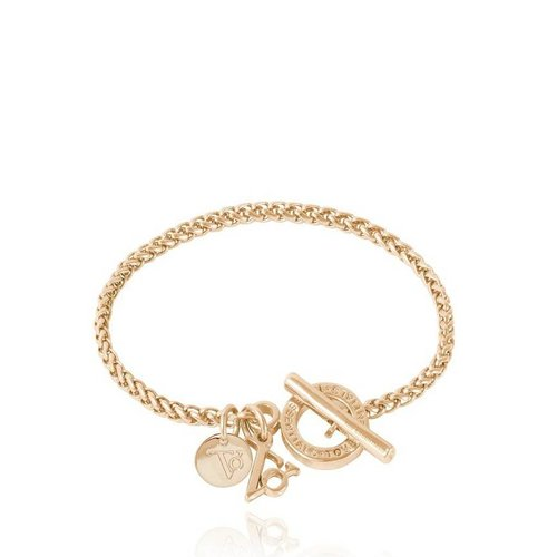 Ini mini Spiga - Armband - Light Gold