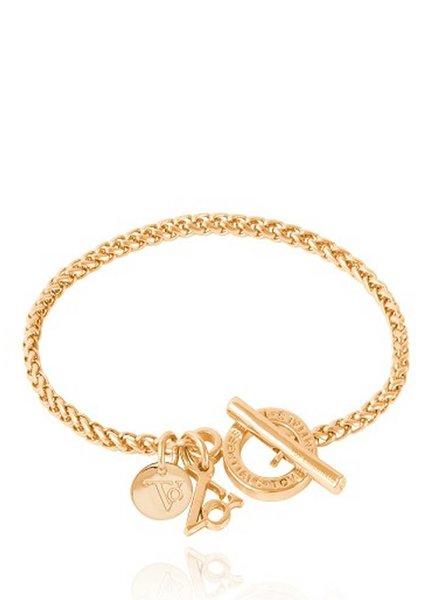 Ini mini spiga bracelet - Goud