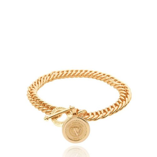 Ini mini mermaid medaillon bracelet - Gold