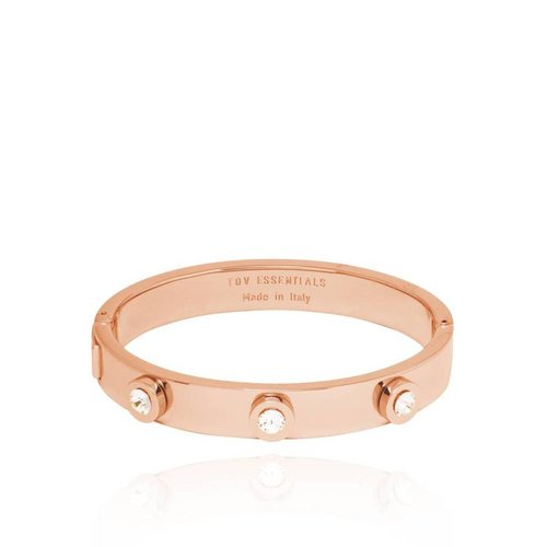 Stone bangle - Rose / Golden Shadow