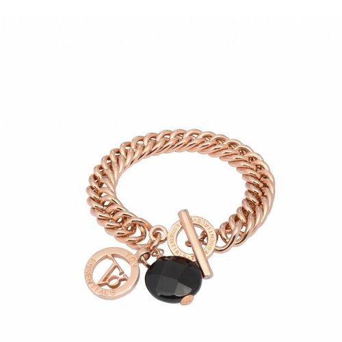 Mini mermaid armband onyx bedel & TOV munt