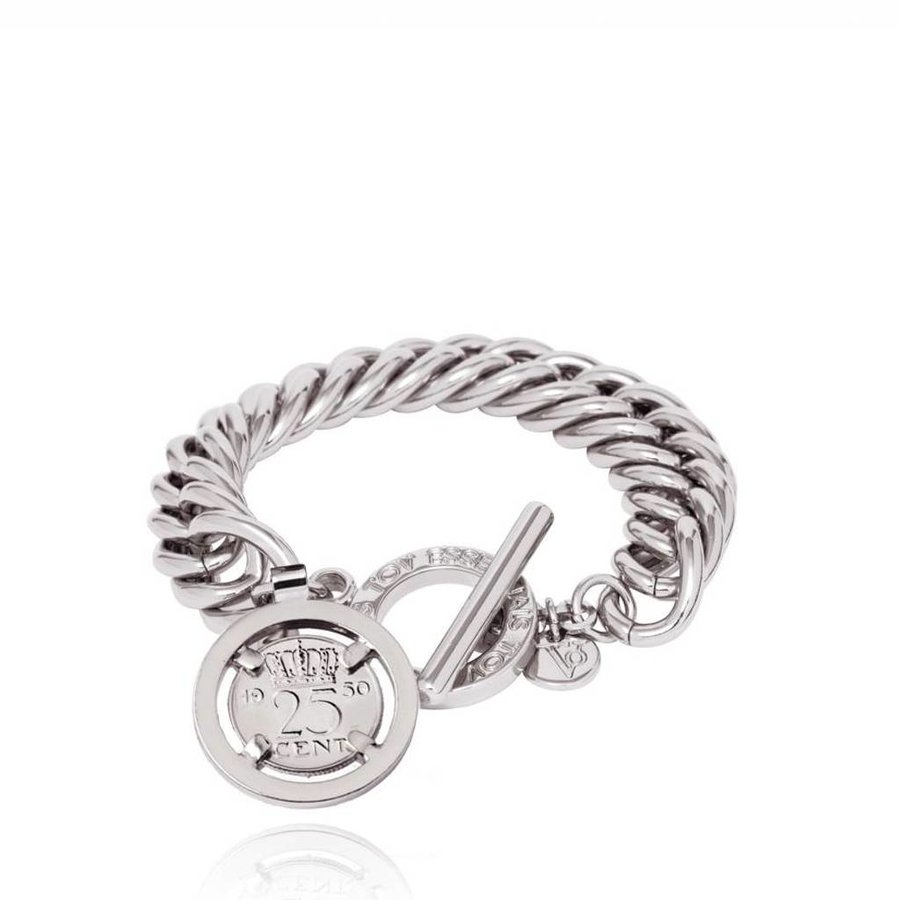 Small mermaid bracelet - White Gold