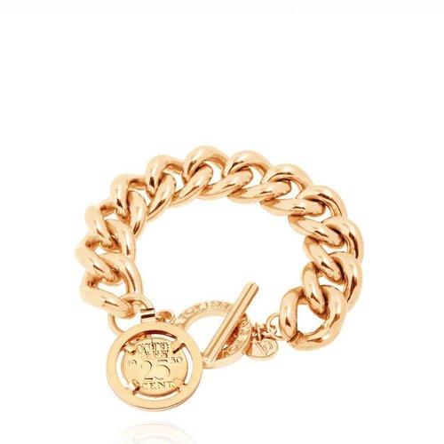 Small Solochain - Armband - Goud