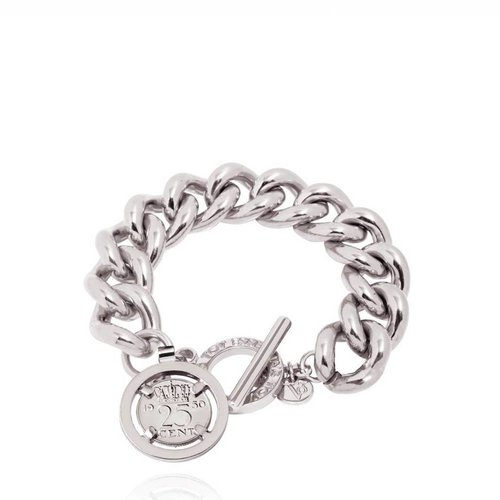 Small solochain bracelet - White Gold