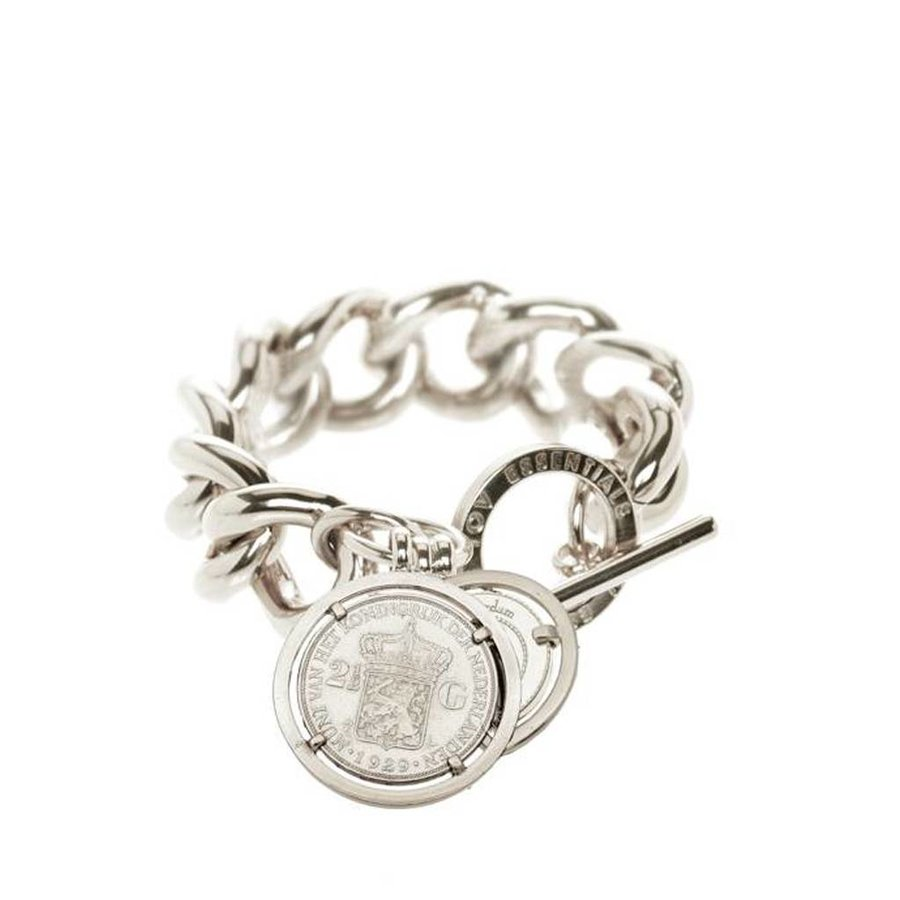 Small solochain bracelet - coins