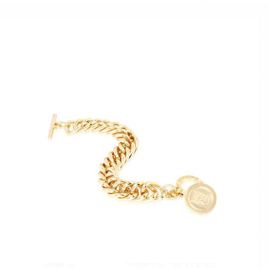 Big mermaid bracelet - Gold