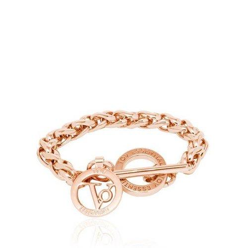 Small spiga bracelet - Rose