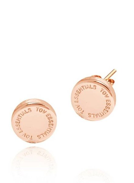 TOV stud earring - Rose
