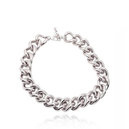 Solochain collier - White Gold