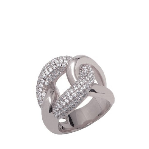 Pave Ring - White Gold