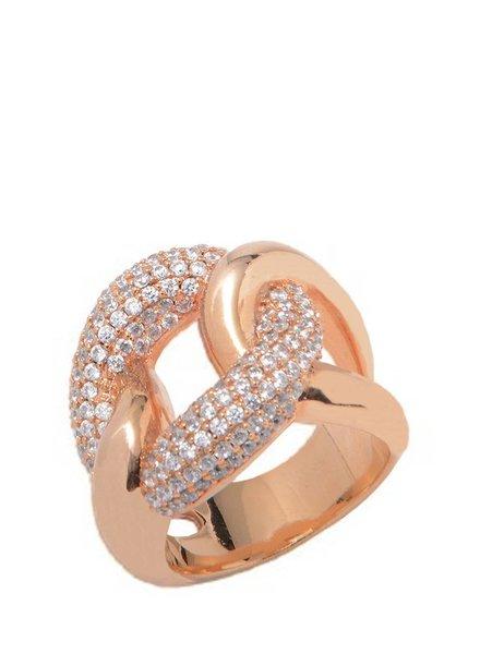Pave Ring - Rosé