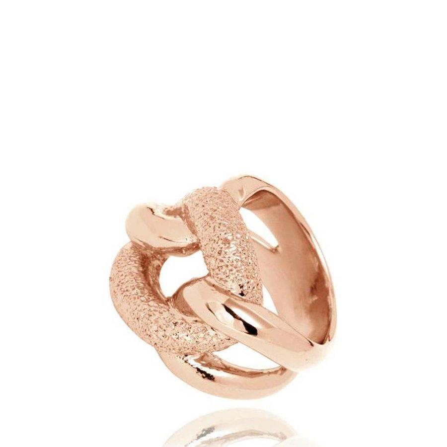 Diamond Effect Gourmet ring - Rose
