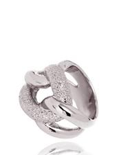 Diamond Effect Gourmet ring - White Gold