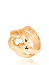 Plain Gourmet ring - Gold