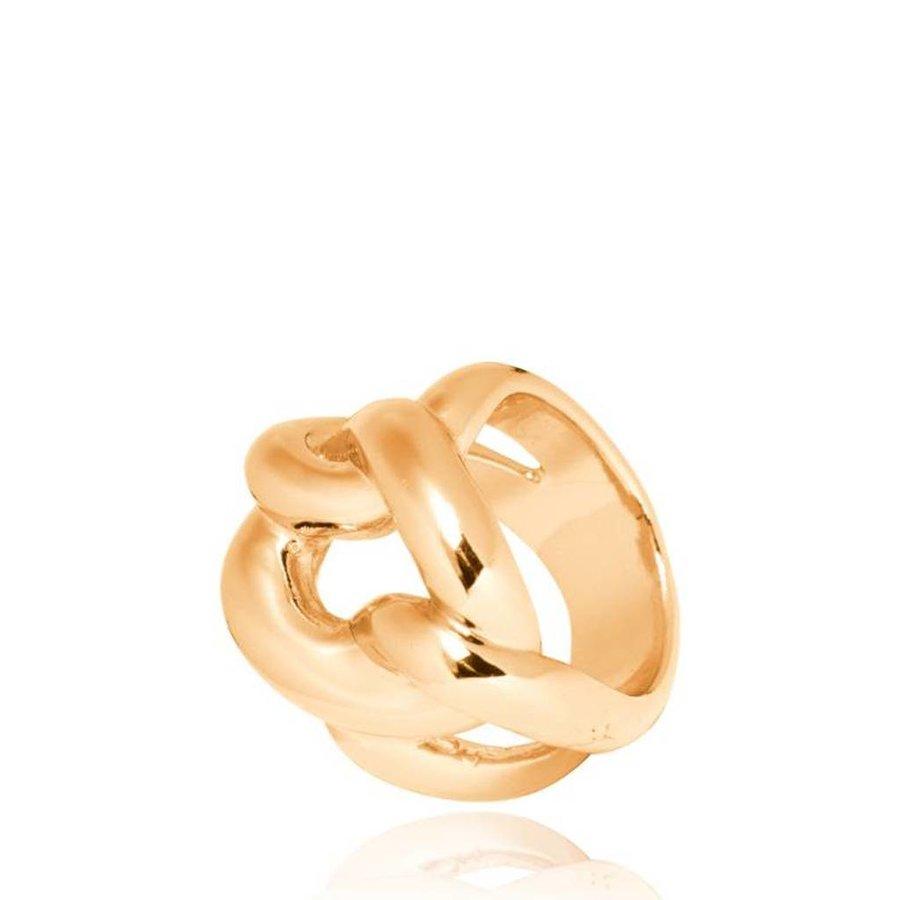 Plain Gourmet ring - Goud