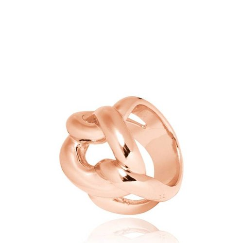 Plain Gourmet ring - Rose