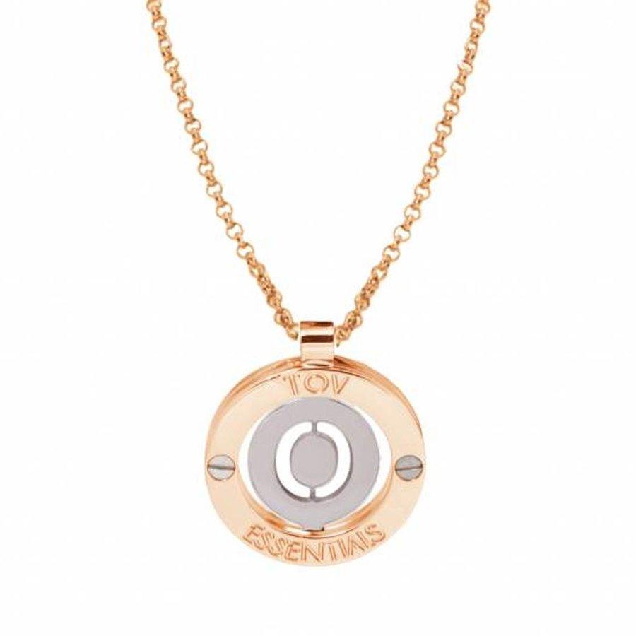 Iniziali - pendant - necklace