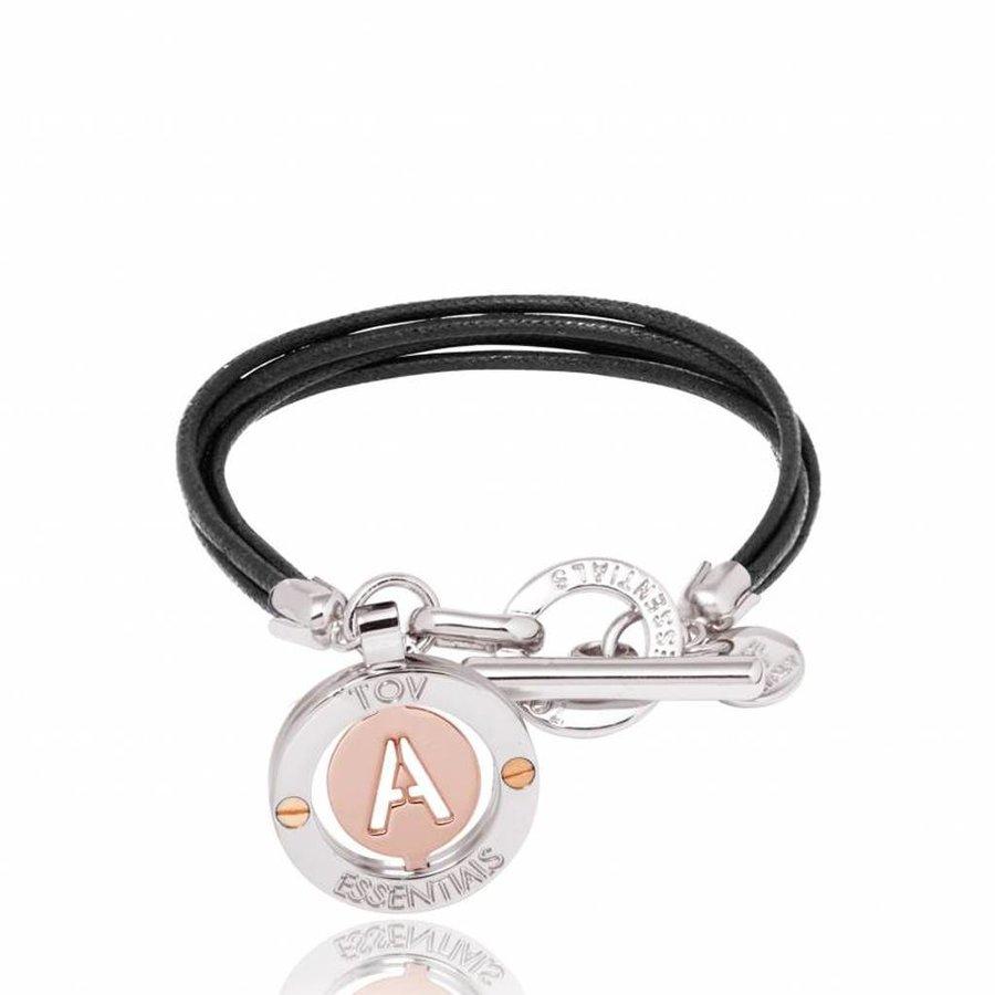 Iniziali -  touw - armband