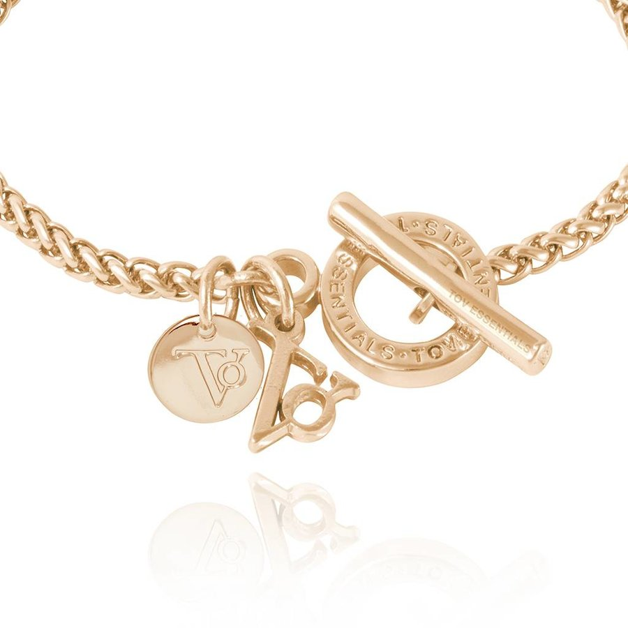 Ini mini spiga bracelet - Light Gold