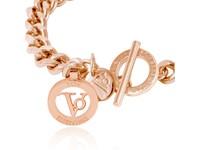 Ini mini flat chain bracelet - Rose