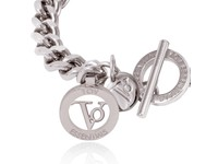 Ini mini flat chain bracelet - White Gold